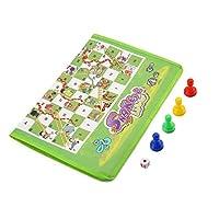Deniseonuk Parent-child game non-woven carpet chess snake&ladders enjoy family fun