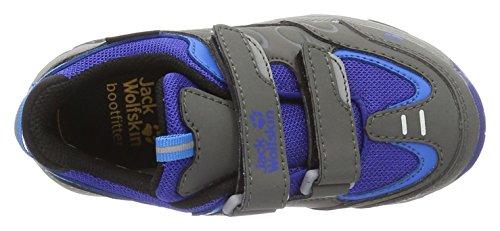 Jack Wolfskin Mtn Attack 2 Texapore Low Vc K, Scarpe da Arrampicata Unisex – Bambini Grigio (Active Blue)
