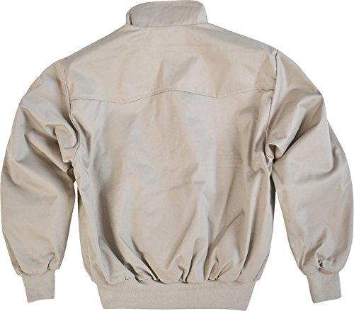 Original GearUp® Harrington Jacke English Style in 12 verschiedenen Designs wählbar Beige
