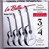 Labella Sa650 Nylon 3/4 - Jeu De Cordes