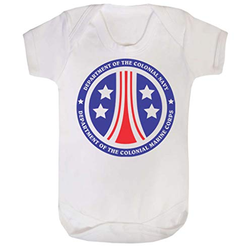 United States Colonial Marine Corps Alien Baby Grow Short ()