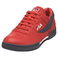 Fila Men's Original Fitness Fashion Sneaker, Red/Navy/White, 12 M US