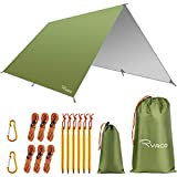 RYACO Bâche Anti-Pluie, Camping Bâche Rain Tarp Toile de Tente Imperméable Abri de...