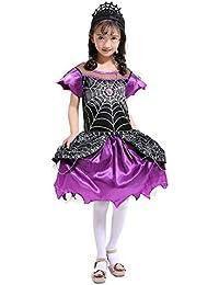 Preisvergleich für Riou Kinder Langarm Halloween Kostüm Top Set Baby Kleidung Set Kleinkind Kinder Mädchen Halloween Cosplay Spinne...