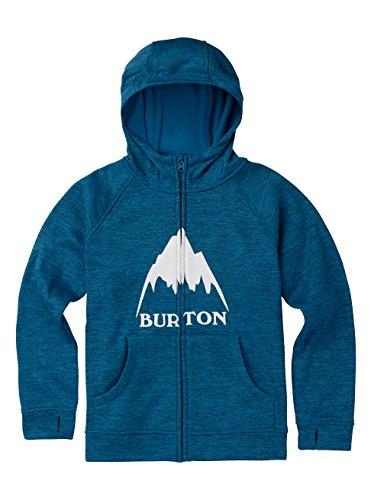 Burton Jungen Oak Full-Zip Hoodie Mountaineer Heather, S -