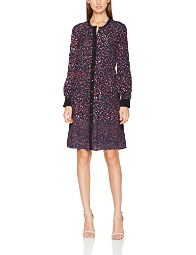 Liebeskind Damen Kleid H1172200, Mehrfarbig (Pigm. Blue Multi Stars Print F 56C4), 36 (Dress Star Print)