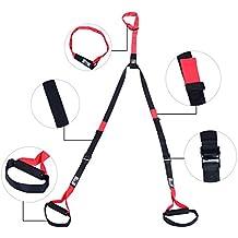 Kit Entrenamiento en Suspension Cuerda Ajustable Ejercicios Suspension + 1 Bolsa