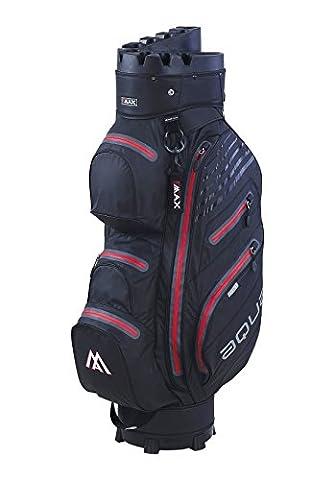 Big Max Aqua I-Dry Silencio Cart Bag Black/Red Black/Red