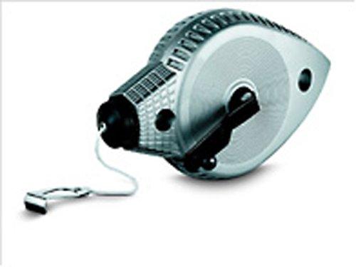 Stanley Schlagschnur Aluminium (30 m, wasserfestes Aluminiumgehäuse, arretierbare Kurbel, auch Senklot) 0-47-100