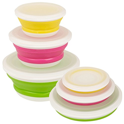 Bravissima Kitchen - Tupperwares Pliables Bravissima Kitchen (3 pièces)