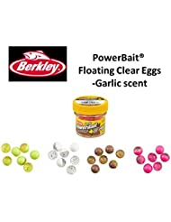 NEW pour l'Europe Berkley Powerbait® Power® Transparent œufs flottant ail scent- Select 4 pour £12