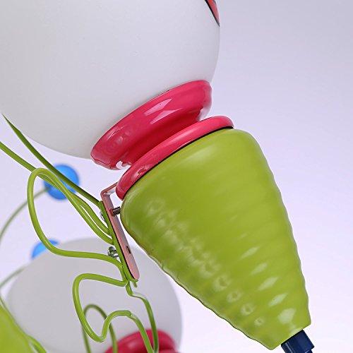 Kinderschlafzimmerlampe LED-Deckenleuchter kreative Cartoon junge Mädchen Kinder-Augen-Bee Kinderzimmer Lampen Beleuchtung ( größe : 4 ) - 5