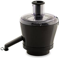 Moulinex XF630BB1 Centrifugeuse - Accessoire pour Robot Pâtissier Masterchef Gourmet - Extraction Optimale des Fruits et Légumes