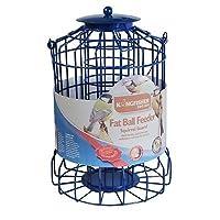 HIGH QUALITY SQUIRREL GUARD BIRD FAT BALL FEEDER WIRE CAGE SQUIRREL PROOF BIRD FEEDER BLUE