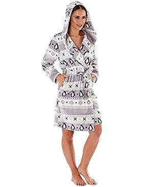 Donna Pinguino Design PILE SUPERMORBIDO con cappuccio abito da sera