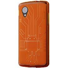 Cruzerlite Circuit Case - Carcasa para LG Nexus 5, naranja