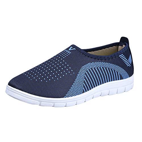 iHENGH 2019 Nuovo Shoes Men Lace-Up Breathable Sneakers Francesina Pantofola Vintage Uomo Scarpe Running Sport Respirante Pu Uomo Scarpa Ginnastica Ragazzo Moda Casual Estate