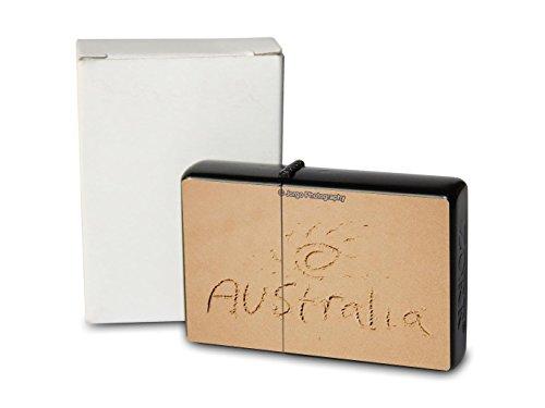 Australien Sand (Feuerzeug Benzin Sturmfeuerzeug Bedruckt Australien Sand)