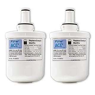 2x ACE+ Wasserfilter kompatibel mit SAMSUNG Aqua-Pure Plus DA29-00003G, HAFIN2/EXP, DA29-00003F, HAFIN1/EXP, DA29-00003B Filter - Kühlschrankfilter - Replacement Refrigerator Filter