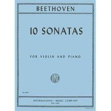 Beethoven, Ludwig - 10 Sonatas (Complete) - Violin and Piano - by David Oistrakh - International