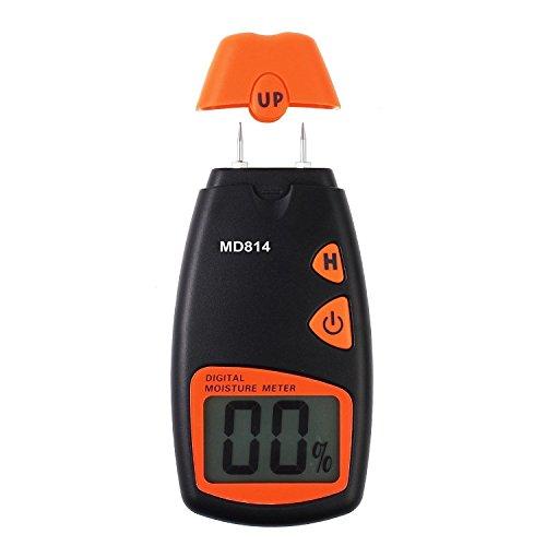 PANGUN Md814 Digital Wood Moisture Portable Meter 4 Ersatzsensor Pins Mit Digitalem LCD Display Test Tool