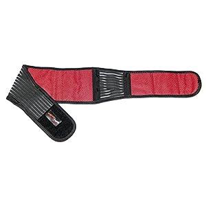 Wärme-Rückengurt Classic mit Turmalin und Magneten, Bandage, Tiefenwärme, selbstwärmend, waschbar, immer wieder verwendbar, Infrarot, Hilfe bei Rückenschmerzen, Rückenbandage, Rückenwärmer, Wärm