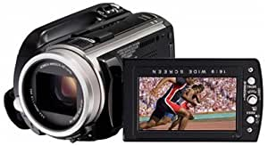 JVC GZ-HD10EK Ultra-Compact High Definition Camcorder With 16 hours of HD recording on 40GB HDD