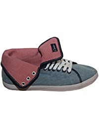 Circa Skateboard women´s shoes NATHTW Jeans/Red square