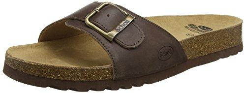 Scholl taglia 43, colore: marrone scuro, akumal sandalo