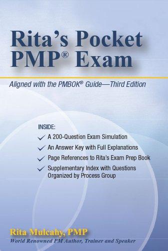 Rita's Pocket PMP Exam por Rita Mulcahy