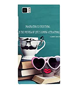 Ebby Premium Printed Mobile Back Case Cover With Full protection For Xiaomi Mi3 (Designer Case)