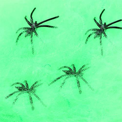 Ball Kostüm Mirror - Kapian Halloween Deko Set Spinnweben mit Spinnen Spitze Spinnennetz Decke für Kamin Tür Karneval Party Grusel Dekoration