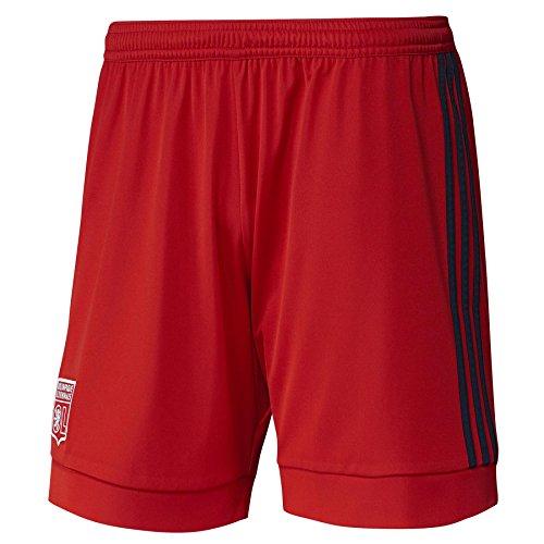 Adidas OL A SHO Short pour homme Noir/Rouge
