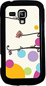 Printvisa 2D-SGS7562-D7960 Pattern Abstract Case Cover for Samsung Galaxy S Duos S7562