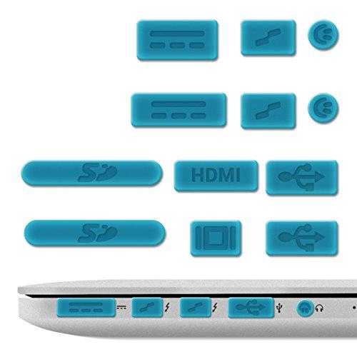 kwmobile 12x Tapon Anti-Polvo para Apple MacBook Pro 13