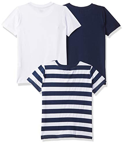 Amazon Brand - Jam & Honey Boy's Tribal Regular fit Cotton T-Shirt (Combo Pack of 3) (SS19KBP03TEE109_Multicolor_6-7 Years)