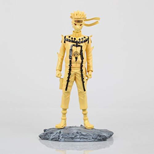 LFOZ Kyuubi Modus Naruto, PVC Spielzeug Sammlung Statue Cartoon Charakter, Anime Naruto Modell, Anime dekorative Charakter skulptur Anime Fan (24 cm) (Kyuubi Naruto)