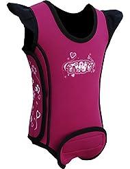 TWF - Neopreno para surf, color rosa, talla UK: 6-12 meses