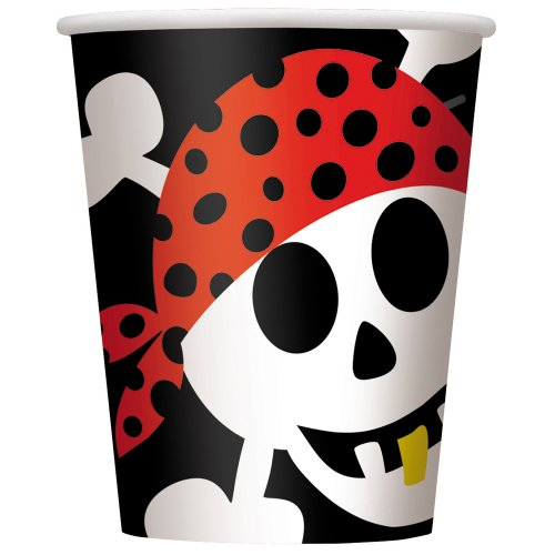 s Pirat Fun Bday FL Bnr 12ft-lf ()