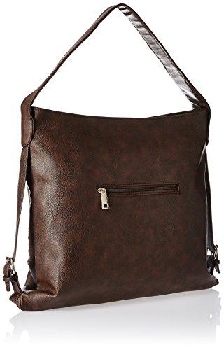 3fde60e9db Alessia74 Handbags Women s Handbag (Dark Brown) (SU016F) – Buy Hanbags