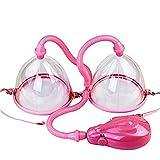Elettrico vuoto seno pompa del seno massaggiatore enhancer promuove l'inGrandimento del seno,Pink,small