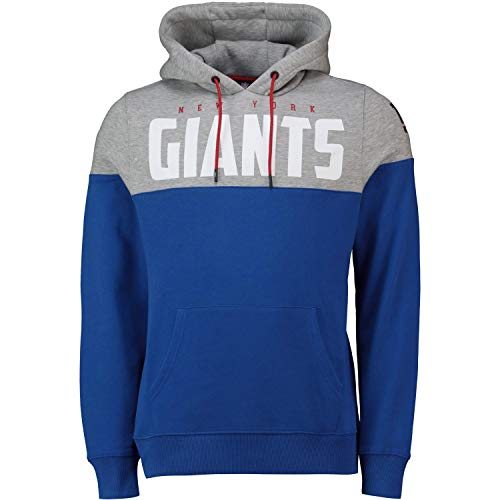 Fanatics NFL Cut & Sew Hoody - New York Giants royal - L -