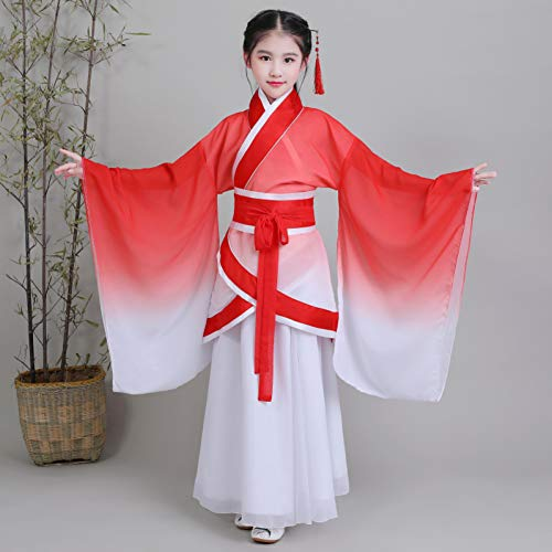 Cxlyq Hanfu Frauen Antike Dramaturgische Kleid Chinesischen Traditionellen Tanz Kostüme Weibliche Hanfu Ancientry Feminie Prinzessin Kleidung (Chinesische Tanz Kostüm Männer)