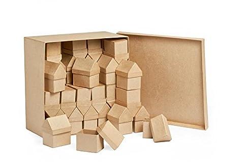 40 boîtes en carton « Maison », Gros acheteurs VBS