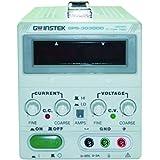 """GW Instek GPS-3030DD - Fuente de alimentación de corriente continua lineal (pantalla led digital de 0,39"""", 1 toma de salida, 30 V CC, 3 Amp, 90 W)"""