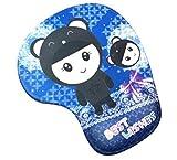 JIANYUXIN Tappetino per Mouse Tappetino per Tablet Pratico Animale Adorabile Resistenza alla Scivolata Memory Memory Comfort Supporto per Poggiapolsi Tappetino per Mouse Tappetino per Mouse Gioco Tap