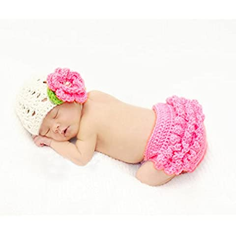 Fashion Cute Newborn Baby Boy Girl Costume Outfits Photography Props