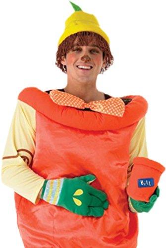 Imagen de erdbeerloft–hombre disfraz bill o ben con top, sombrero con pelo, mosca, guantes y macetas tipos de soporte, m de l , color naranja naranja 26 w/32 l alternativa