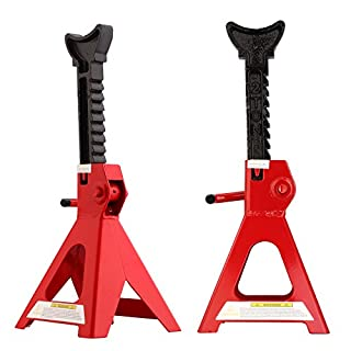 AllRight Axle Stands 2 Ton Heavy Duty Car Caravan Van Vehicle Stand Lifting Set Of 2