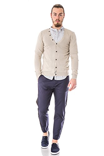 IMPERIAL - Homme cardigan manches longues m553b4 Beige